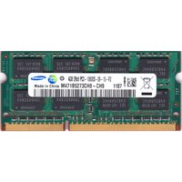 SAMSUNG PC3-10600S (DDR3-1333) 4GB SO-DIMM 204pin ノートパソコン用メモリ 型番:M471B5273CH0-CH9 動作保証品