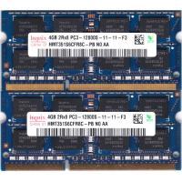 hynix PC3-12800S (DDR3-1600) 4GB x 2枚組み 合計8GB SO-DIMM 204pin ノートパソコン用メモリ 動作保証品