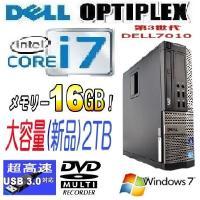 デスクトップパソコン ●CPU:Core i7-3770(3.4GHz) ●メモリ:16GB(高速D...