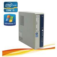 デスクトップパソコン ●CPU:Core i5-2400S(2.5GHz) ●メモリ:4GB ●HD...