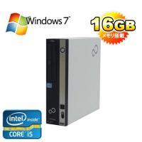 デスクトップパソコン ●CPU:Core i5 2400 (3.1GHz) ●メモリ大容量16GB ...