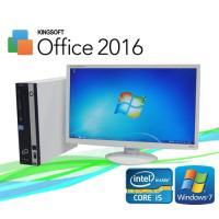 デスクトップパソコン ●CPU:Core i5-3470 (3.2GHz) ●メモリ:4GB ●HD...