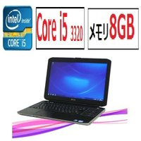 中古パソコン ノ−トパソコン DELL ●CPU:Core i5 3320M(2.6GHz) ●メモ...