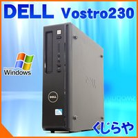 高性能クアッドコア搭載!DELLのスリム型PC、Vostro230のWin10モデルが入荷! 4コア...
