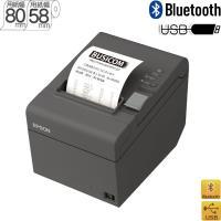 BluetoothレシートプリンターTM202BI036 ダークグレーEPSON
