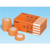 優肌絆 不織布(肌色 箱外装:オレンジ) 12mm・25mm・50mm×7m テープ 日東メディカル