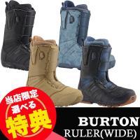 16-17 BURTON RULER(WIDE) [Black][Denim][Militant][Black/Multi] ルーラー ワイド バートン