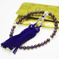 ●素材 アメシスト(紫水晶):約7.5mm ●長さ  (36粒) ●重量 念珠・数珠:約32.5g ...