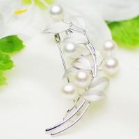 ●素材 淡水真珠:約6.5-7.5mm (オーバル) ●大きさ ブローチ:約約33x75mm ●重量...