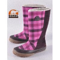 とてもカワイイ、ソレルのウールブーツです。寒い季節の足元を暖かく包んでくれます。こちらは珍しいソレル...
