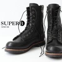 グッドイヤー・ウェルト製法で作られた本格派のブーツ。 カラーはブラックとブラウンのコンビカラーの2色...