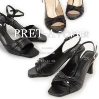 ■商品名 【日本製】PRET-A PORTER/プレタポルテ 6.5cmヒール 快適美脚 歩きやすい...