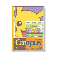 ポケットモンスター キャンパスノート(ドット入り罫線) A罫 5冊パック【フェイス】 ショウワノート 119-7290-01