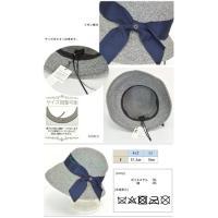 帽子 ハット リボン Mサイズ フリー サイズ調整 ママ 春 夏 紫外線対策 日焼け対策 旅行 リゾート ギフト ミセス 80-025