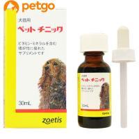 ペットチニックは鉄・銅・ビタミンB群をバランスよく補給できるリキッドタイプのビタミン、ミネラルサプリ...