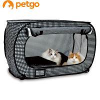 トイレやベッド、爪とぎなどを入れても十分な空間を確保し、ある程度の時間を中で過ごしても、猫が落ち着け...