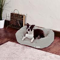 犬 夏用ベッド ペティオ Porta ポルタ ひんやりやわらか シャンブレーベッド スクエア Petio 超小型犬 小型犬