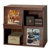 収納する物やお好みに合わせて6種類の家具を縦横自由に組み合わせられる木製家具MOJシリーズ♪連結用ボ...