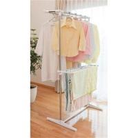 高さを102cm〜159cmに調節が可能な室内用のステンレス製物干しです。タオルや長物衣類を干すのに...