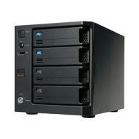 LAN DISK XRW本体に本来ならハードディスク(カートリッジ)を4台搭載できるところを、2台搭...