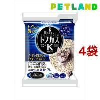 猫砂 おから トフカスサンドK ( 7L*4コセット )/ トフカスサンド