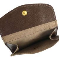 Il Bisonte イルビゾンテ  2つ折小銭付き財布 ブラウン C0955