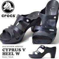 クロックス(crocs)  サイプラス 5.0 ヒール(cyprus 5.0 heel w) になり...
