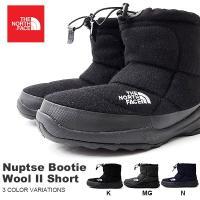 THE NORTH FACE (ノースフェイス) Nuptse Bootie Wool II Sho...