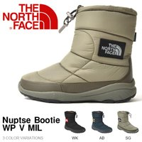 THE NORTH FACE (ノースフェイス) Nuptse Bootie WP V MIL(ヌプ...