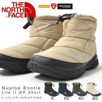 THE NORTH FACE (ノースフェイス) Nuptse Bootie Lite II WP ...