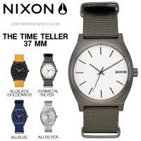 NIXON(ニクソン)男女兼用・ユニセックス ナイロンストラップを採用したTHE TIME TELL...
