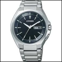 CITIZEN シチズン アテッサ   エコドライブ 電波メンズ時計 AT6010-59E■as-0...