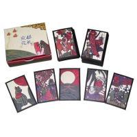 京都の名産・名所がすべての札に盛り込まれたオリジナル花札。通常の花札としてはもちろん、オリジナルルー...