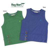 80%OFF 子供服 ベスト ワンポイント刺繍 RAG MART ラグマート セール SALE