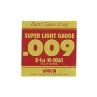 ヤマハ スーパーライトゲージのエレキギター用バラ弦。 セット弦H1060の1弦のみ1本バラ売りです。...
