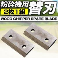 当店取扱い粉砕機(商品コード:AT065A)用の替刃です! 切れ味悪くなったら替刃です。   ●仕様...