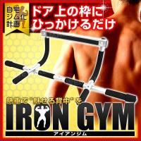 ◆3%OFFクーポン配布中◆  手軽に筋肉トレーニングができるアイアン・ジムです。  ジムに行かなく...