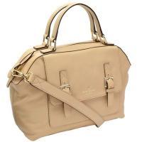ケイトスペード新作2WAYバッグ★デザイン性のある正面ポケットのフラップが特徴的なバッグ*手持ちはも...