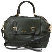 ケイトスペード新作2WAYバッグを入荷しました♪深みのあるグリーン系カラーがオシャレ*デザイン性のあ...