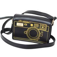 ケイトスペード新作ショルダーバッグを入荷しました!ブラックベースにゴールドのカメラデザインがお洒落♪...