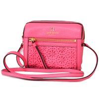 ケイトスペード新作ショルダーバッグを入荷しました☆鮮やかなピンク系カラーにフラワー柄のパンチングデザ...