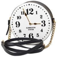 ケイトスペードからとってもキュートなバッグが登場!時計をモチーフにしたユニークなデザインがとてもオシ...