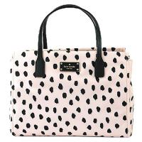 ケイトスペードからとっても可愛い2WAYバッグを入荷しました*ピンク系カラーをベースにドット柄がデザ...