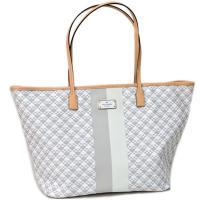 ケイトスペードから日本未発売トートバッグを入荷!ブランドを象徴するスペードの総柄レザーにロゴプレート...