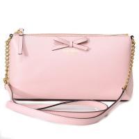 ケイトスペードから新作ショルダーバッグが登場!淡いピンクのカラーとリボンが目を引く可愛いデザインが魅...