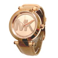 マイケルコースの最新作の時計を入荷しました!中でも人気の大きめな文字盤タイプ*落ち着いたカラーのレザ...