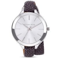 マイケルコースの日本未発売腕時計をアメリカより入荷♪細めのベルトにパイソン柄がデザインされたクールで...
