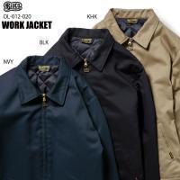 BLUCO(ブルコ) OL-012-020 WORK JACKET 全3色(ネイビー・ブラック・カーキ)☆送料無料☆