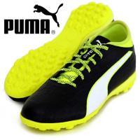 PUMA エヴォタッチ 3 TT  アッパーに柔らかい人工皮革、 フィット感を高めるエヴォフィットを...