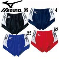 MIZUNO レーシングパンツ(メンズ)   ベーシックデザインと基本機能。チームユースに適した、長...
